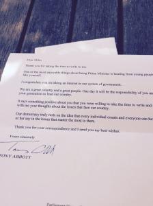letter from tony abbott